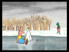 Kikker & Vriendjes - Kikker en de sneeuwman