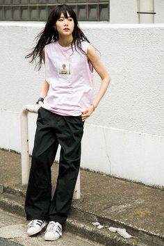[FASHION] X-girl × Larry Clark meets Nylonista snap: nairu - NYLON JAPAN