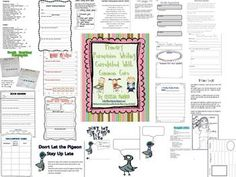 This 57 page unit is aligned with first and second grade Common Core standards.  It includes book responses, book review sheets, opinion charts, fa...