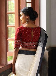 Chaanthu Pottu` Blouse – Seamstress