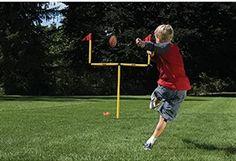 Franklin Sports Go Pro Youth Football Goal Post Set