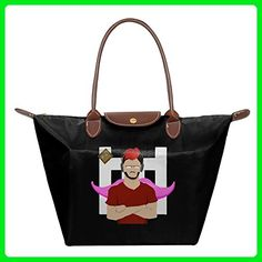Markiplier Youtuber Women's Fashion Waterproof Hobo Bag Large Tote Shoulder Handbag - Shoulder bags (*Amazon Partner-Link)