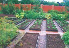 Традиционный и декоративный огород – подробная планировка | Дача - впрок