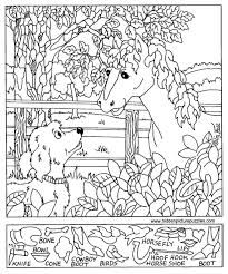 Hidden pictures christmas coloring sheet - - Pinned by @PediaStaff ...