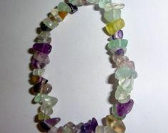 Natural Unakite Crystal Healing Chip Gemstone por EarthsRocks