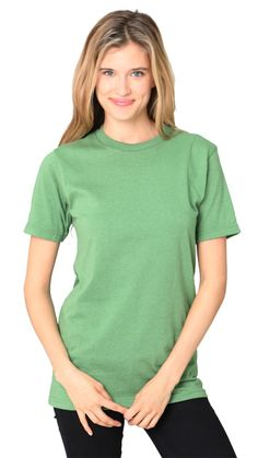 65051UNN Unisex UNION MADE Recycled Jersey Tee - Short Sleeves - Women