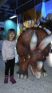 Ania mama Agnieszki: Muzeum Dinozaurów w Katowicach