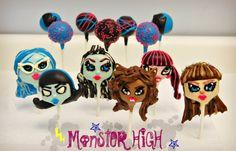 #Monster High Cake pops