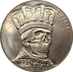 Hobo Nickel 1937-D 3-LEGGED BUFFALO NICKEL COIN COPY FREE SHIPPING#12