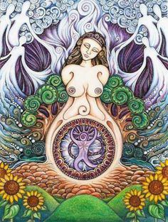 Gaia, mother nature - The goddess of Mother Nature was worshipped by non Jewish…