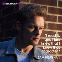 """""""Outlander""""'s Sam Heughan could be the handsome, humble star of Hollywood's dreams. USA TODAY, September 2017"""