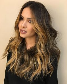 layered+brown+hair+with+golden+brown+highlights