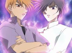 fruits basket, yuki and kyo... and this is when you run just run