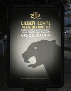 [1/4] Esta serie de gráficas del Zoo buscan invitar a las personas a visitar sus animales. La #solucion representar a animales con gestos y mímicas.