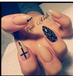 Stiletto nails. These are so crazy but would be wickedly fun for a few days.