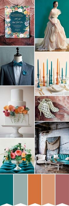 September Wedding Colour Pallet-Love This