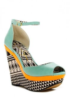 Keira Wedge Sandal
