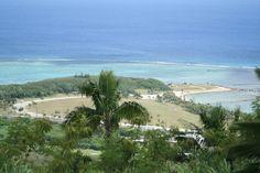 View of Asan Beach Park, taken from the Nimitz Hill Overlook.