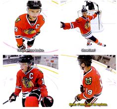 This makes me happy cause of Kane telling Toews to 'be serious' cause he is mocking him.