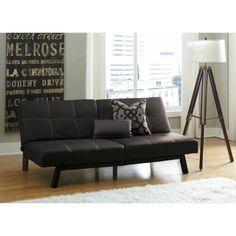Free Shipping. Buy Delaney Split-Back Futon Sofa Bed, Multiple Colors at Walmart.com