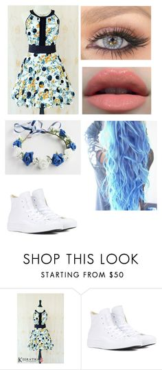"""""""My Style 19"""" by oreo-chan ❤ liked on Polyvore featuring Converse"""