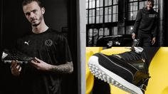 PUMA x BALR. 2020/21 Collection Soccer Boots, Soccer Jerseys, James Maddison, Football Fashion, Professional Football, Football Players, 21st, Product Launch, Hoodies