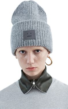 ACNE Pansy shet hat medium grey