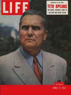 Josip Broz Tito on the cover of Life magazine, 21. April 1952
