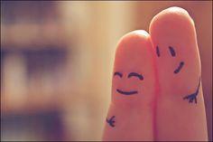 happy in love