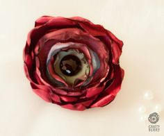 Red Poppy Hairclip/Brooch by CraftyBerry on Etsy, Red Poppies, Poppy, Hair Clips, Berry, Brooch, Crafty, Trending Outfits, Unique Jewelry, Handmade Gifts