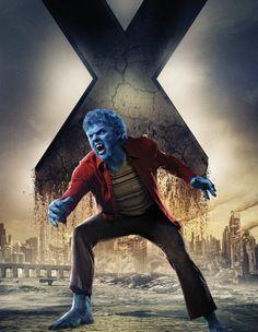 X-Men: Días del futuro pasado Beast (Nicholas Hoult) Poderes: Fuerza, velocidad, reflejos y coeficiente intelectual alto.