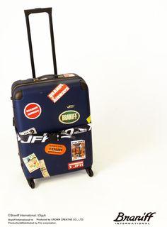BRANIFF(ブラニフ)スーツケース&ケースベルト! http://www.trio1971.com/braniff_info/informaton.html
