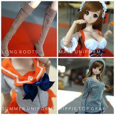 I'm prepping store to open orders today for accessories & Smart Doll Mirai + Kizuna - pls watch your inbox. 今日案内だ。