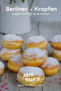Berliner Rezept - Krapfen selber machen Mrs Flury  Faschingskrafen, Hefeteig, luftige Krapfen, Krapfen Rezept, Germteig, Fasnacht, Karneval, Pfannkuchen Rezept, Krempel Rezept, Krapfen nach österreichischem Rezept, Faschingsparty, Party, Silvester  #krapfen #berliner #hefeteig #mrsflury Sweets Recipes, Healthy Recipes, Keto Salmon, Salmon Cakes, Salmon Patties, Sweet Bakery, Comfort Food, Garlic Sauce, Almond Flour