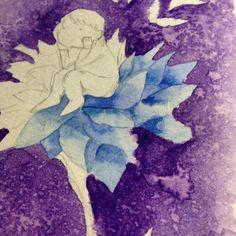 Experimentando papel novo New paper dwgdaily watercolor