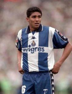 Mario Jardel of FC Porto & Brazil in 1996.