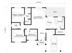 Economy house floor plans House plans