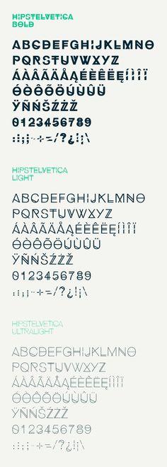 Hipstelvetica Free Font on Behance