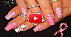 Look Fabulous With This Pink Ribbon Nail Art Tutorial! | The Breast Cancer Site Blog
