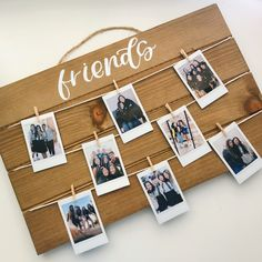Hand lettered calligraphy Polaroid board sign vsco girl sign friends sign (polaroids included with the sign) gifts gift Birthday Surprise Boyfriend, Cute Birthday Gift, 16th Birthday Gifts, Mickey Birthday, Birthday Gifts For Girlfriend, Friend Birthday Gifts, Birthday Surprises, Teen Birthday, Roommate Gifts