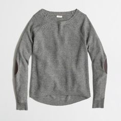 J.Crew Factory has these two sweaters marked down today. Left is...