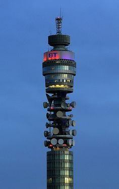 Go inside BT Tower, London - the views are amazing!