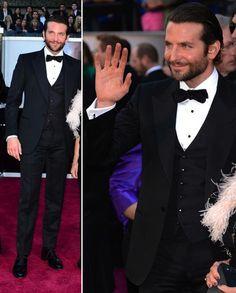 Oscars 2013: Bradley Cooper in Tom Ford