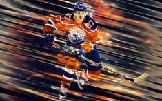 Download wallpapers Connor McDavid, 4k, Canadian hockey player, line art, NHL, Edmonton Oilers, striker, hockey, Edmonton, Canada, National Hockey League Sports Wallpapers, Cute Wallpapers, Canadian Hockey Players, Nhl Wallpaper, Connor Mcdavid, Edmonton Oilers, National Hockey League, Colorful Wallpaper, Line Art