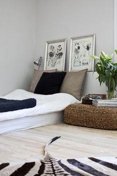 Find inspiration til indretning i en lille bolig her: | Mad & Bolig