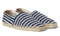 Castañer Striped Espadrilles - Best Casual Shoes for Men - Esquire