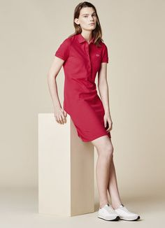 ee91180baf66ca CLASSIC PIQUE POLO DRESS. Grab substantial discounts at Lacoste Canada  using Coupon   Promo Codes
