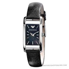 Emporio Armani Ladies Mother Of Pearl Dial Watch Modern Watches, Fine Watches, Luxury Watches, Ladies Watches, Giorgio Armani Watches, Emporio Armani, Armani Women, Watch Sale, Breitling