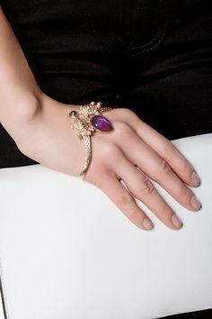 Браслет LeiVanKash - Браслет на запястье Turtle Gem из бронзы с покрытием розовым золотом