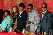 The Jackson Family Press Conference For Global Announcement (L-R Katherine Jackson, La Toya Jackson, Tito Jackson, Jackie Jackson, and Marlon Jackson.)